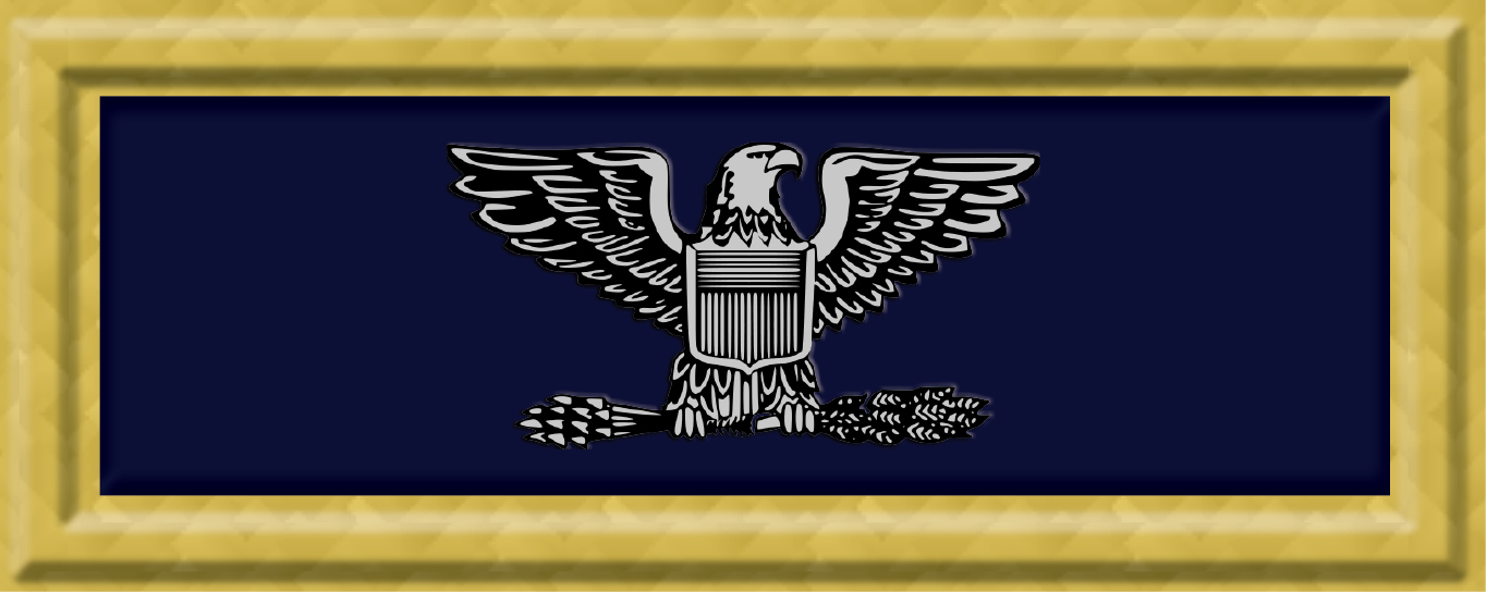 Union Army Col Rank Insigniag