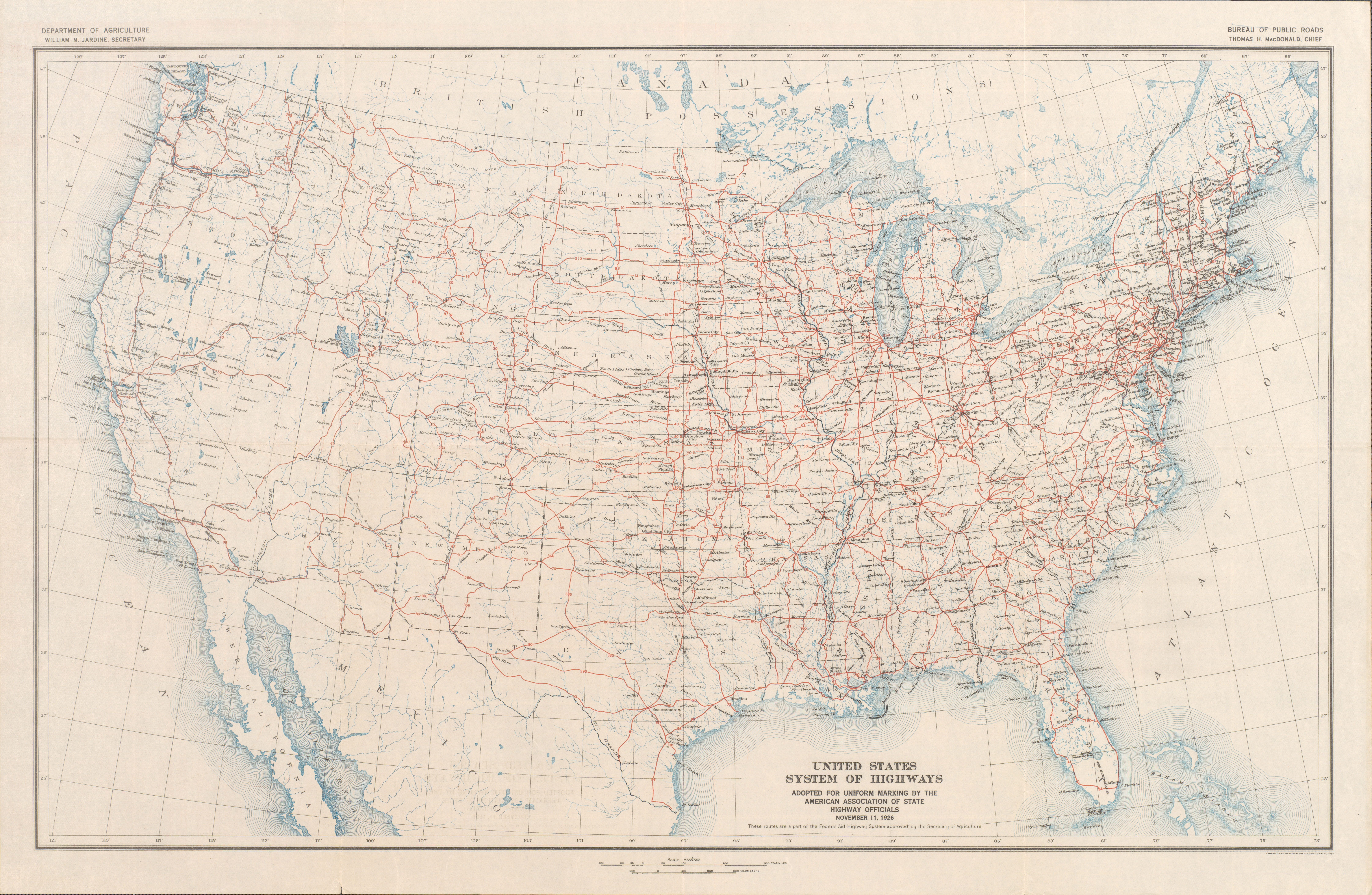 Interstate  Wikipedia United States Numbered Highway System - Map usa states highways