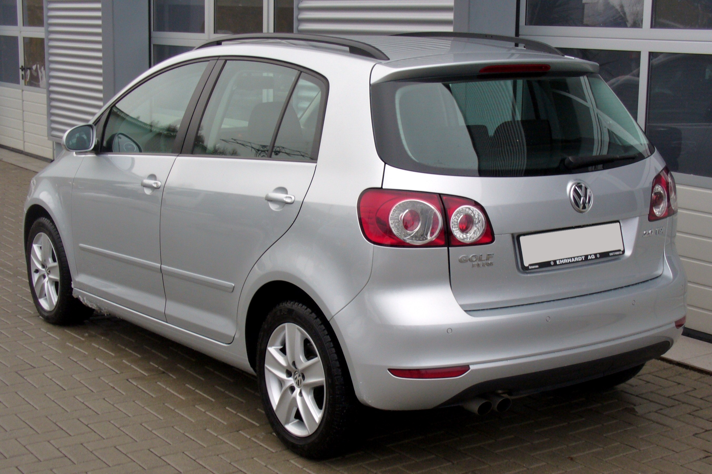 fichier vw golf plus 2 0 tdi comfortline reflexsilber heck jpg wikip dia. Black Bedroom Furniture Sets. Home Design Ideas