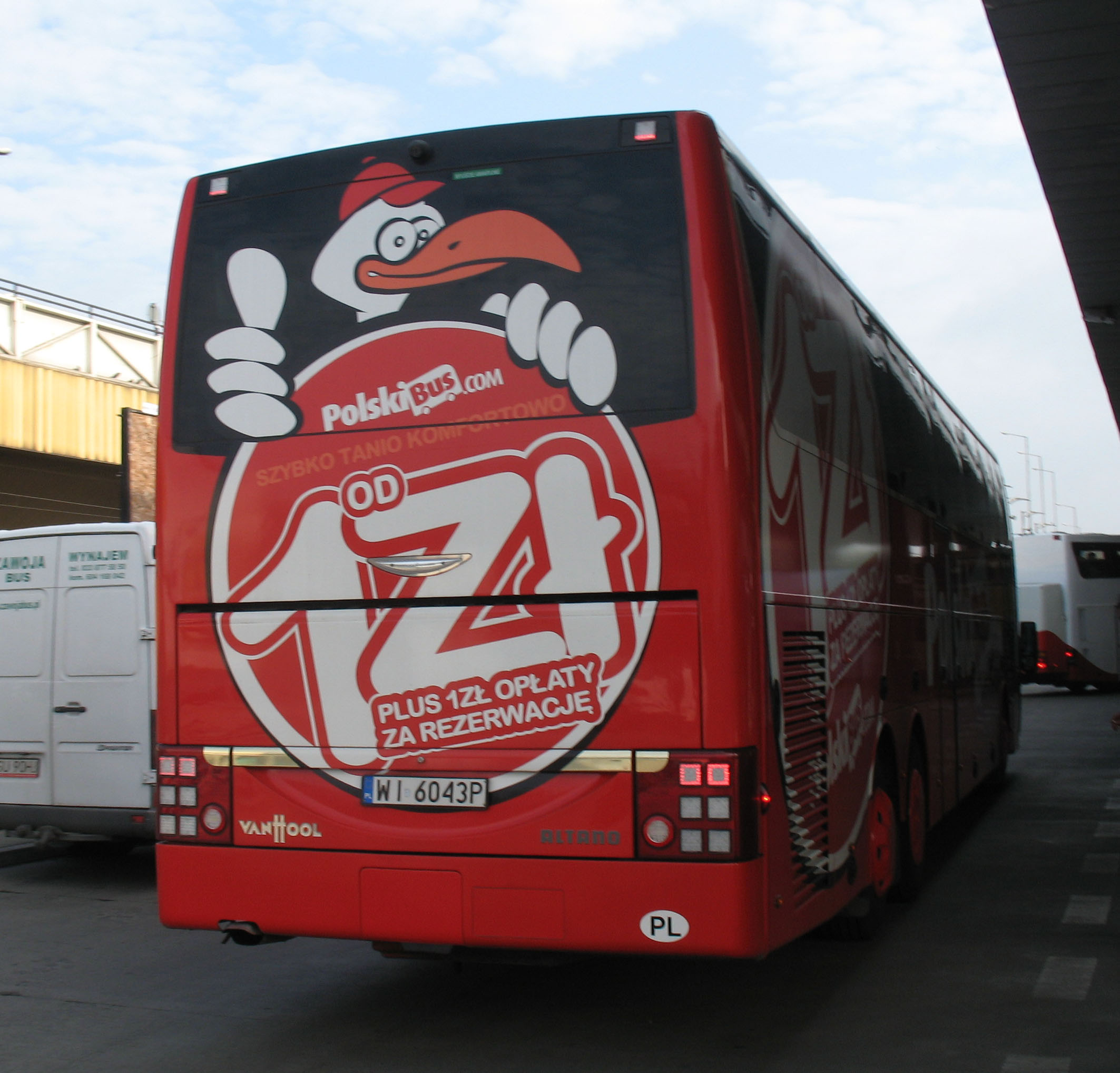 ein Polskibus von hinten - Quelle: WikiCommons