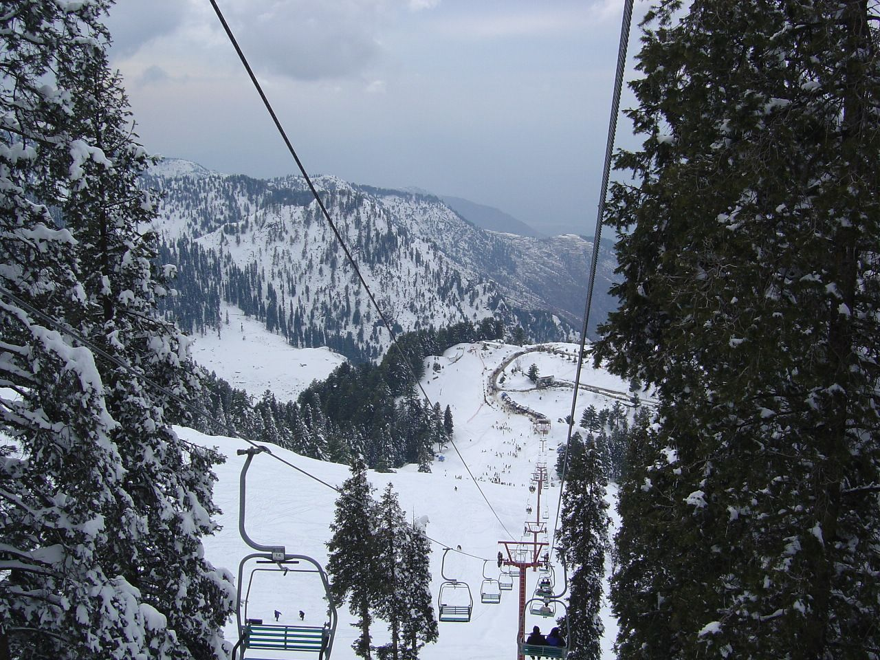 File:View From The Chairlift In Malam Jabba.JPG