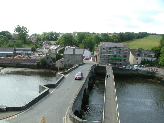 View of Bridgend, Cardigan - geograph.org.uk - 470117