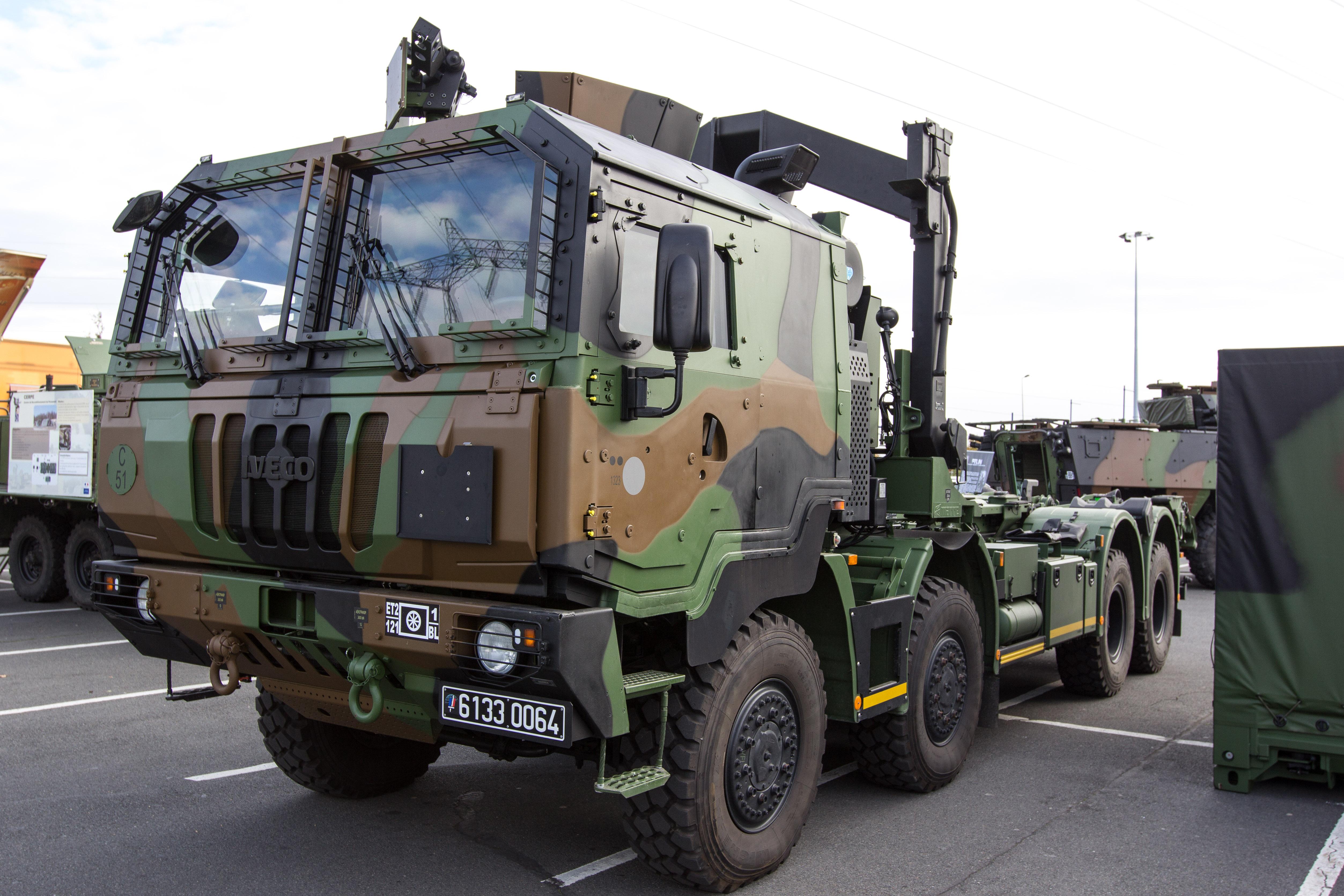 Camion Benne Militaire Mercedes