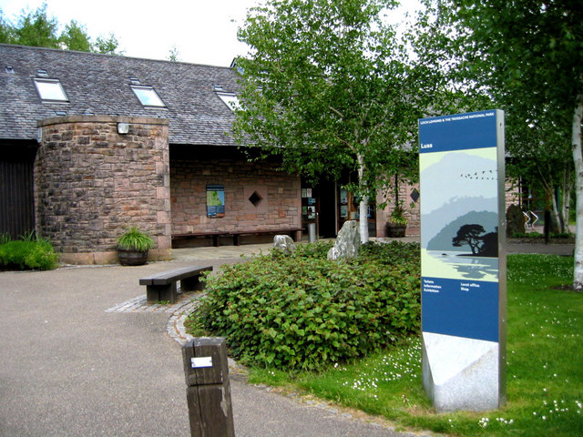 Visitor centre at Luss - geograph.org.uk - 828483