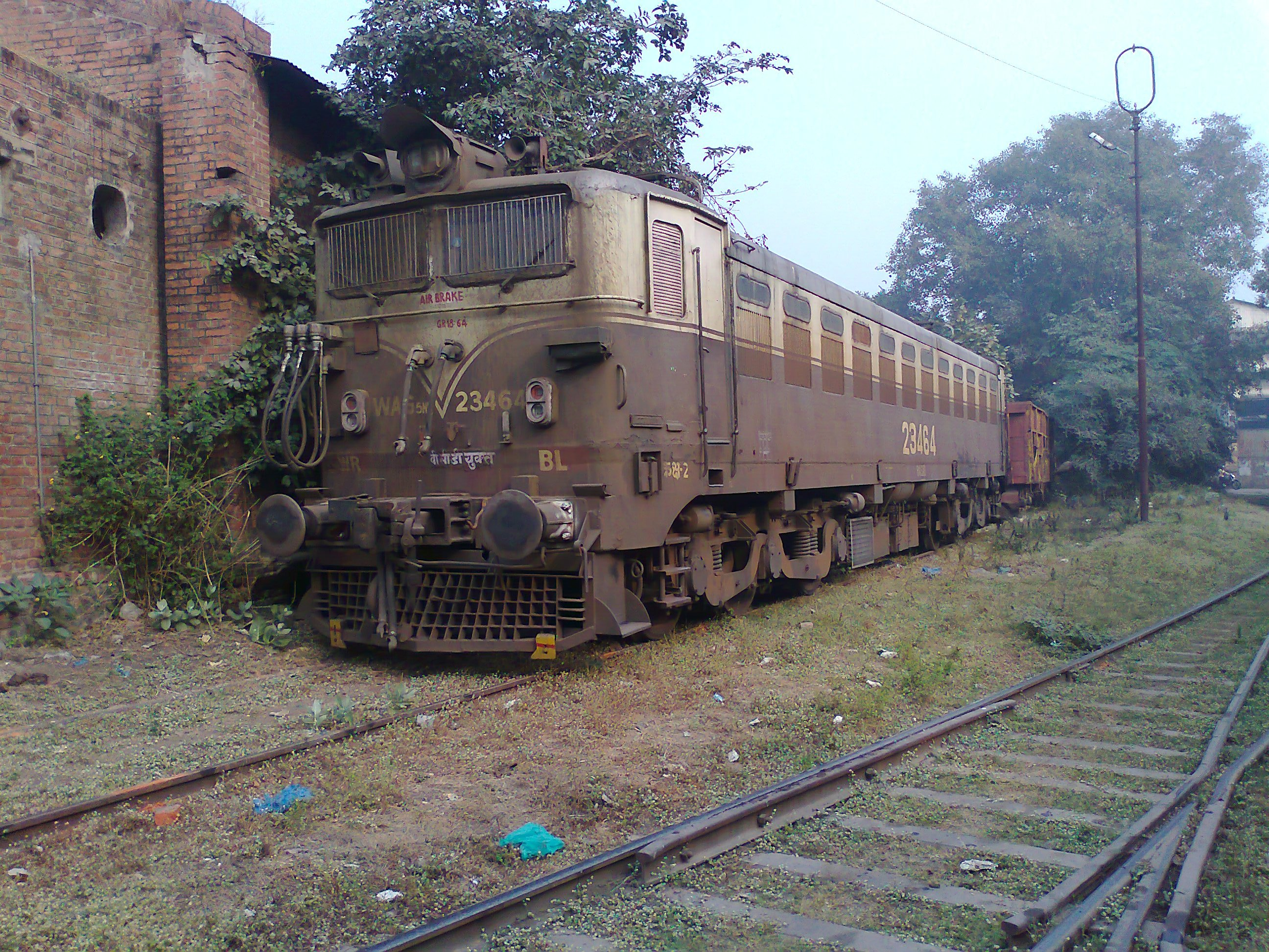 Valsad India  City pictures : WAG5 HR of Valsad spotted at Charbagh Workshop, Lucknow Uttar ...