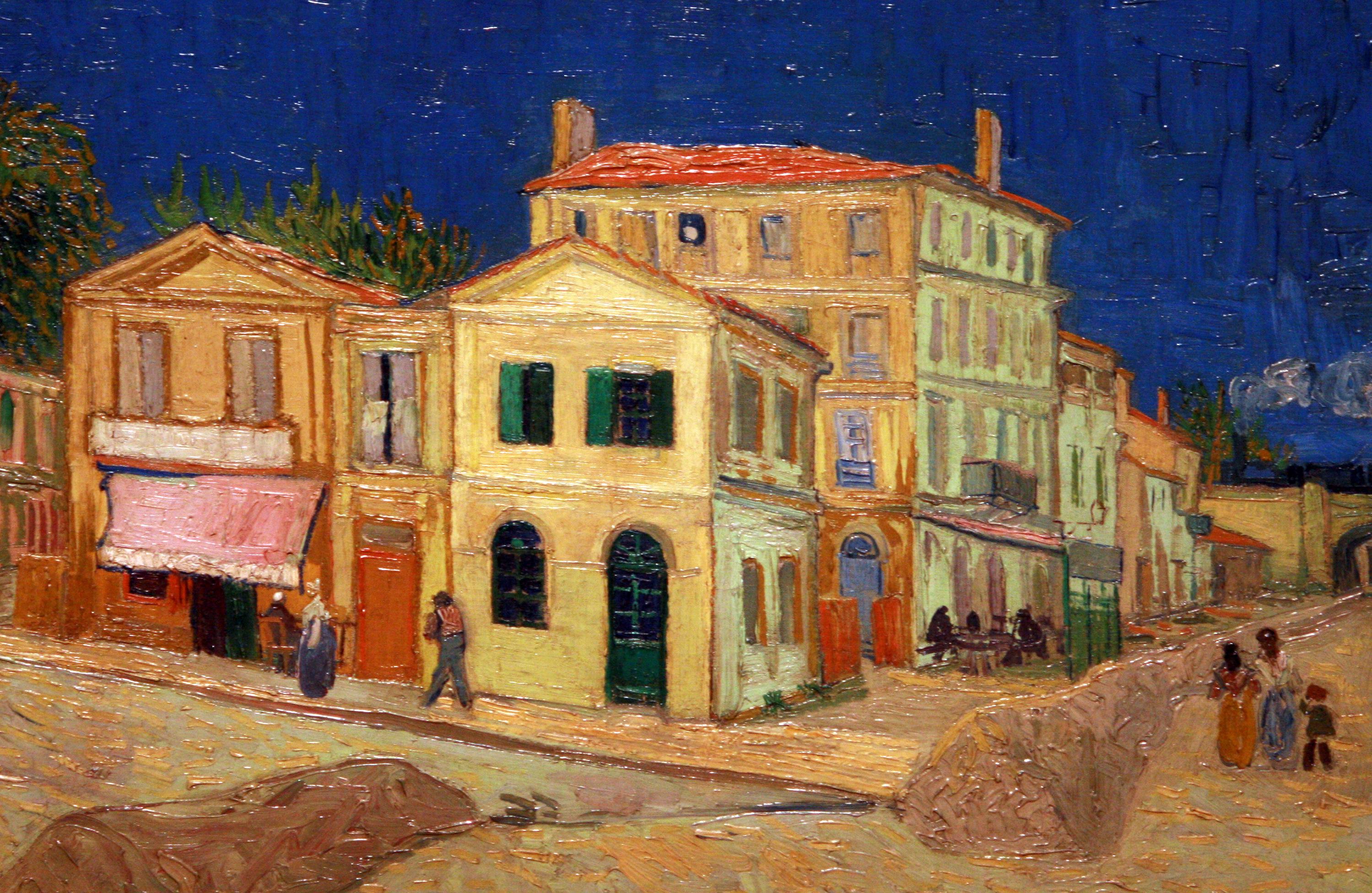 File wlanl techdiva 1 0 het gele huis de straat vincent van gogh 1888 jpg wikimedia for De ingang van het huis