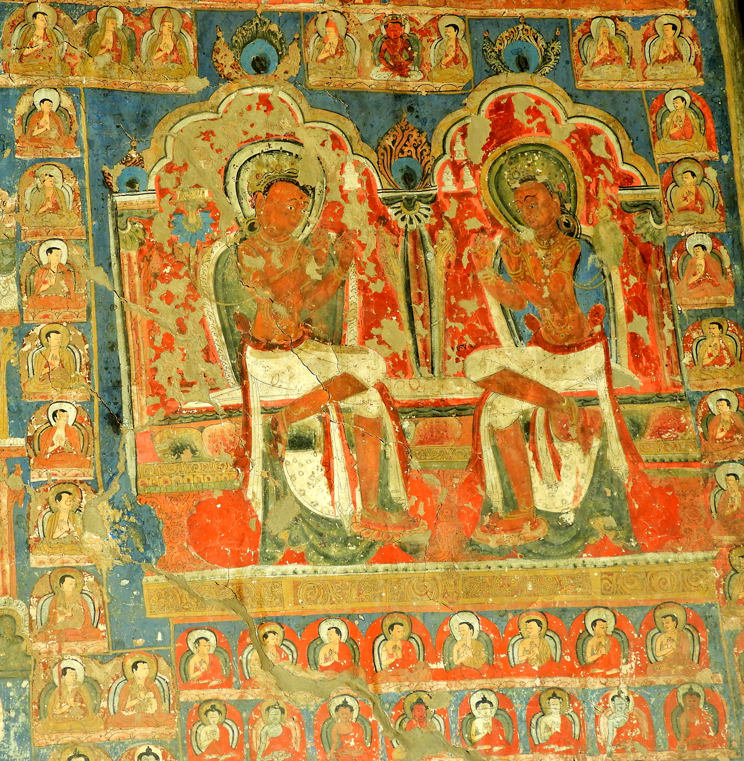 File:Wall Painting in Saspol cave DSCN7057 7.jpg - Wikimedia Commons