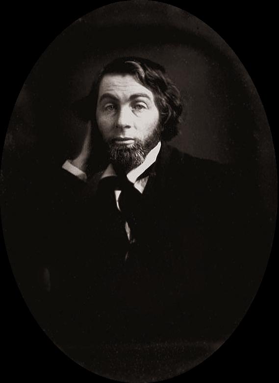 Walt Whitman at age 28, Feb-Mar 1848, near New...