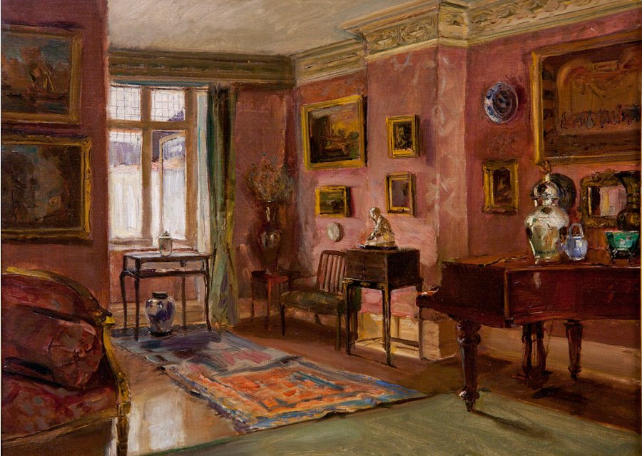 Famous Interior Paintings: File:Walter Gay (American, 1856–1937), The Front Parlor