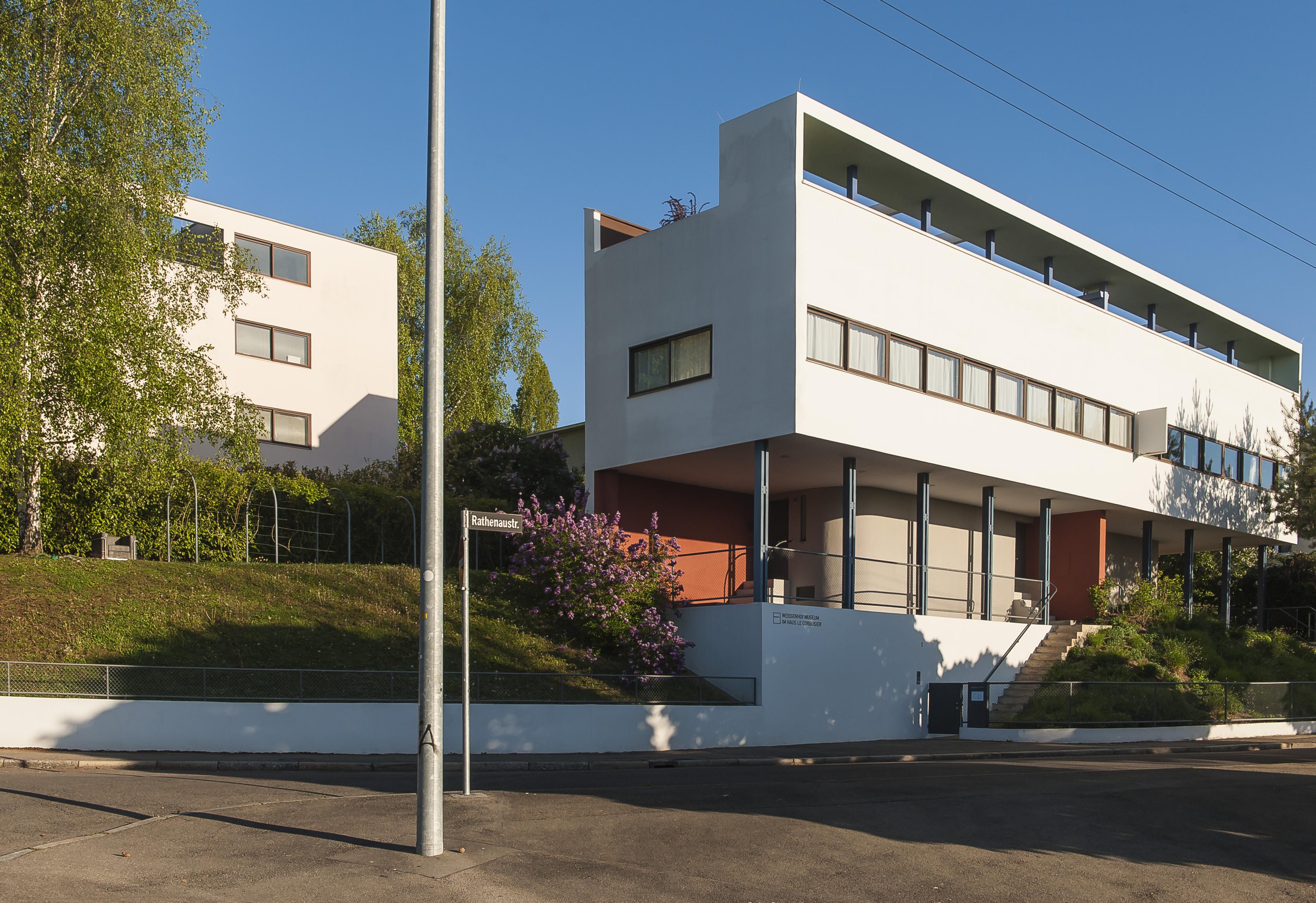 bauhaus le corbusier home ideen. Black Bedroom Furniture Sets. Home Design Ideas