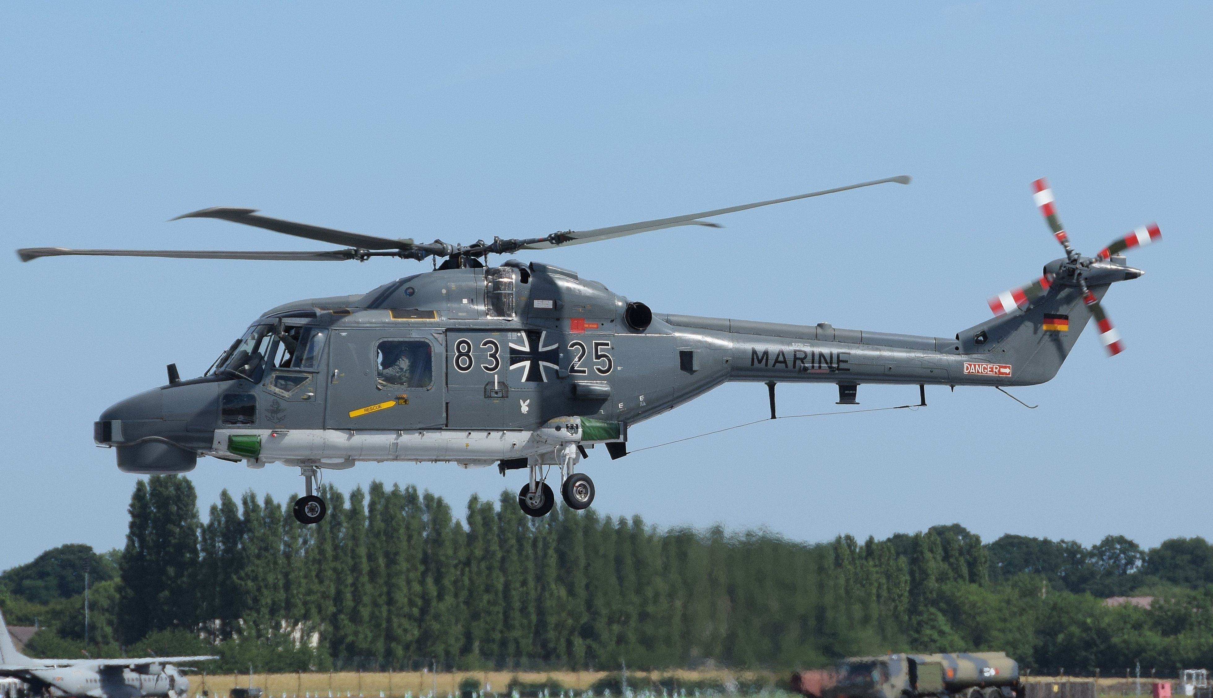 Westland Lynx AH Mk 7 Anti-Tank Ground Attack Helicopter Royal Army Air Corps