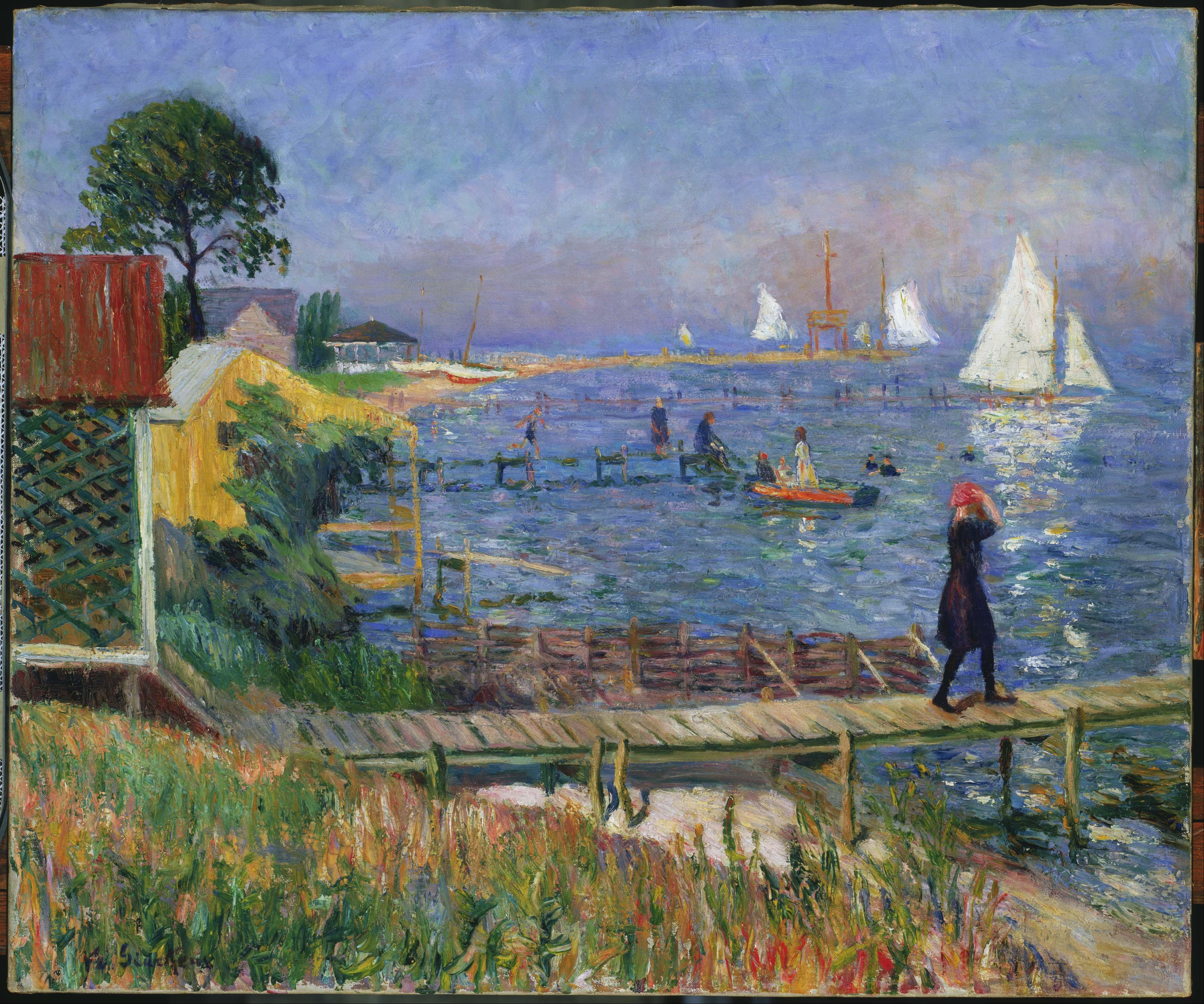 Art History News: William Glackens At The Barnes Foundation