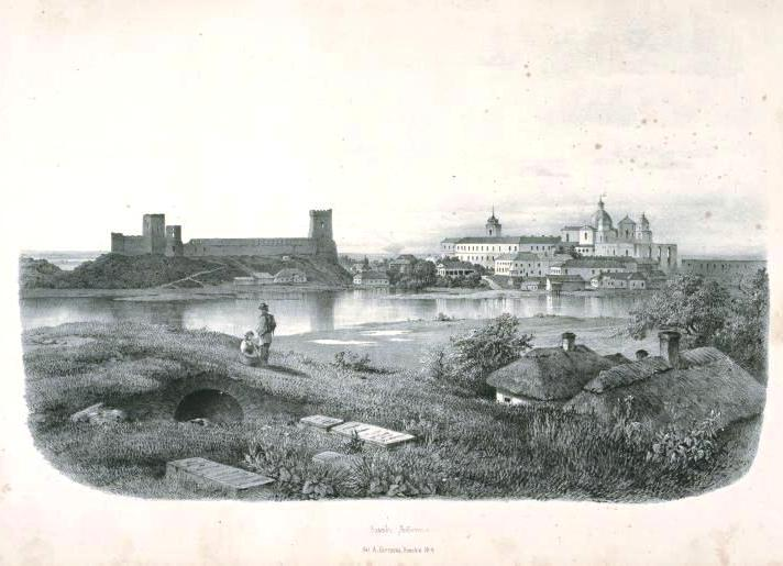 Замок Любарта, 1850