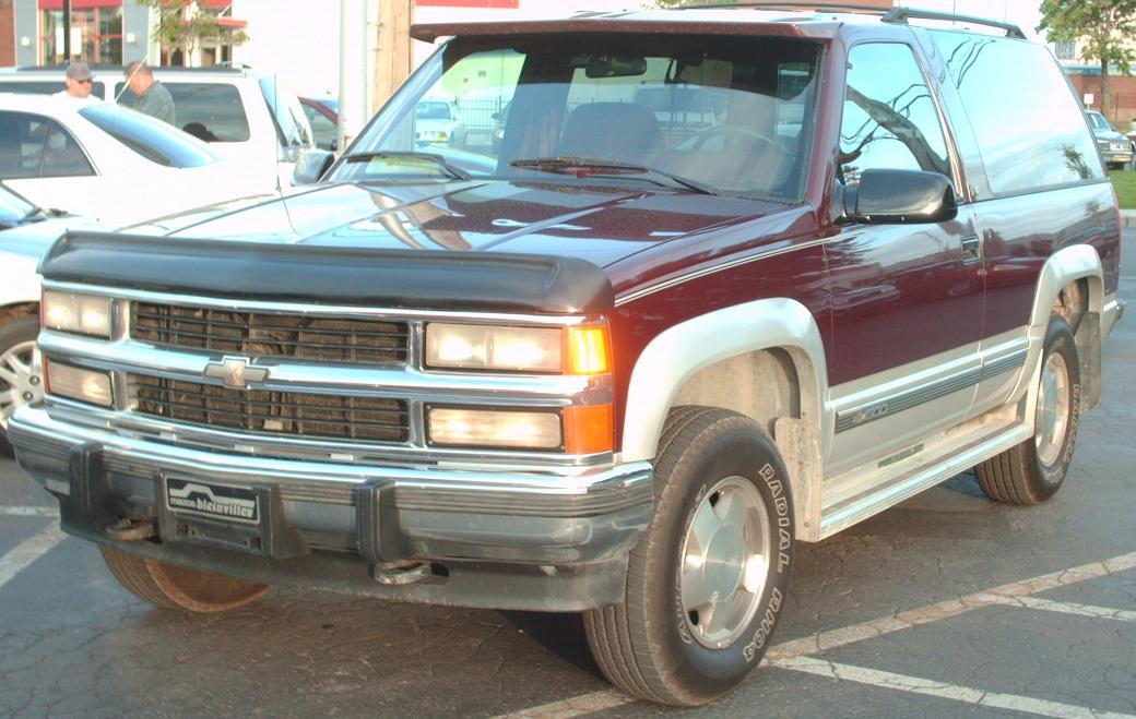 Chevrolet K Blazer on 1991 Dodge Dynasty Truck