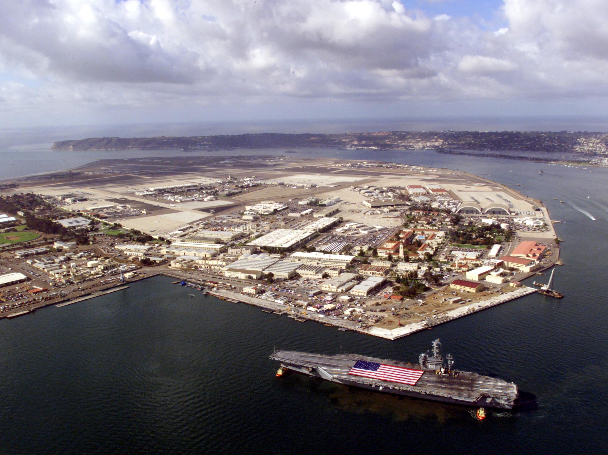 Navy Base North Island Address