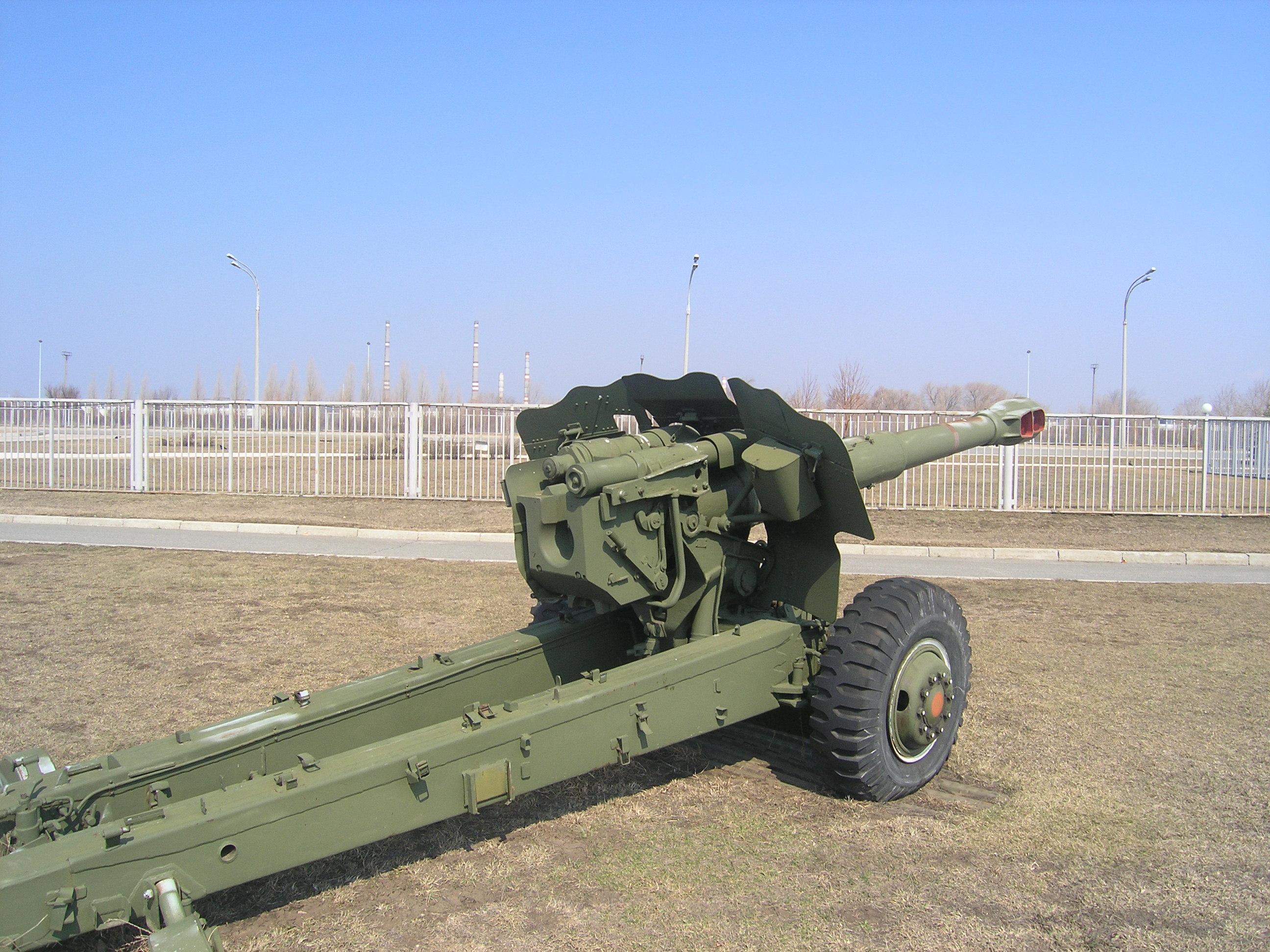file 152 mm howitzer d 20 4598 jpg. Black Bedroom Furniture Sets. Home Design Ideas