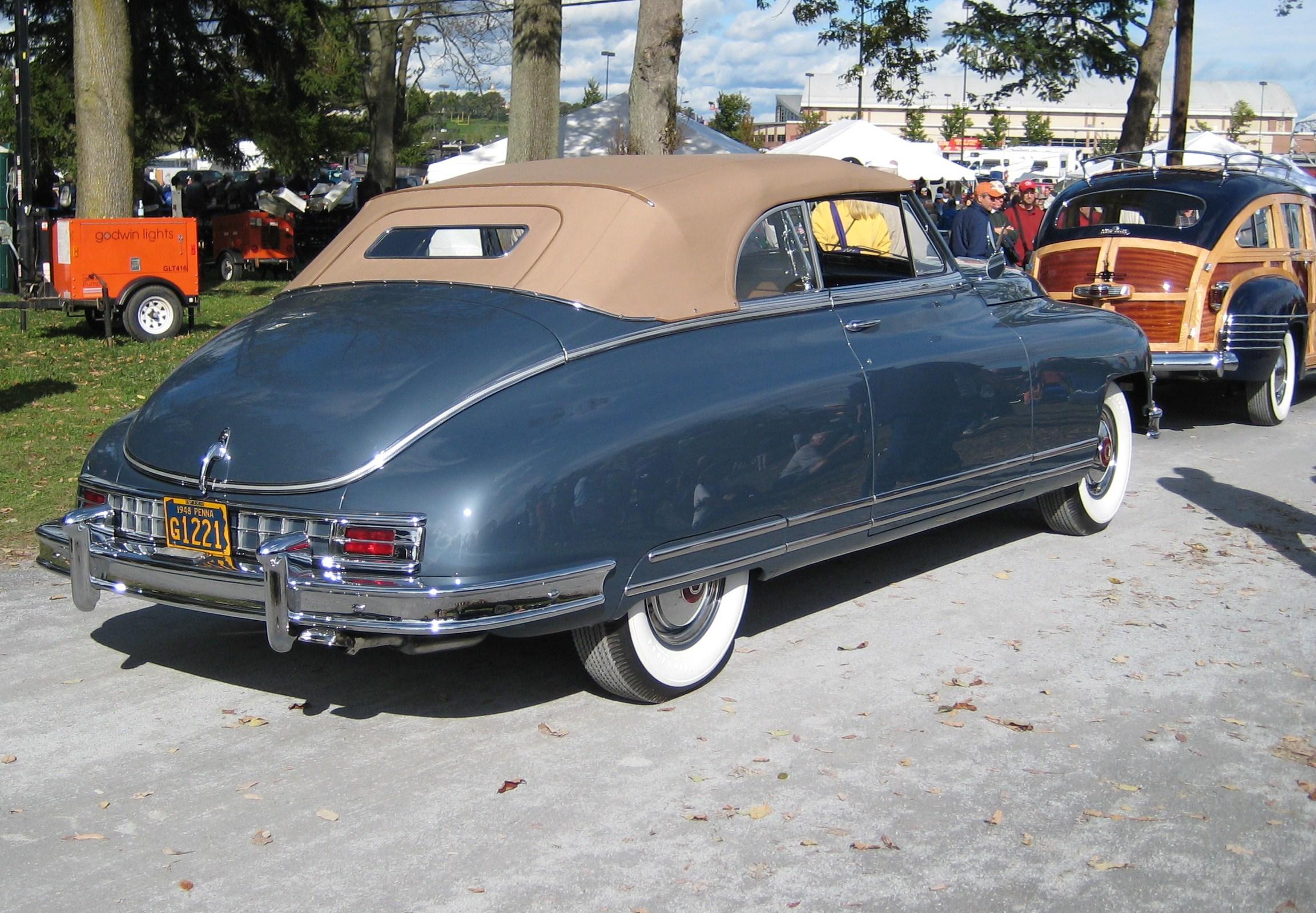 file 1948 packard custom 8 4349817989 wikimedia mons Pontiac Convertible 1943 file 1948 packard custom 8 4349817989