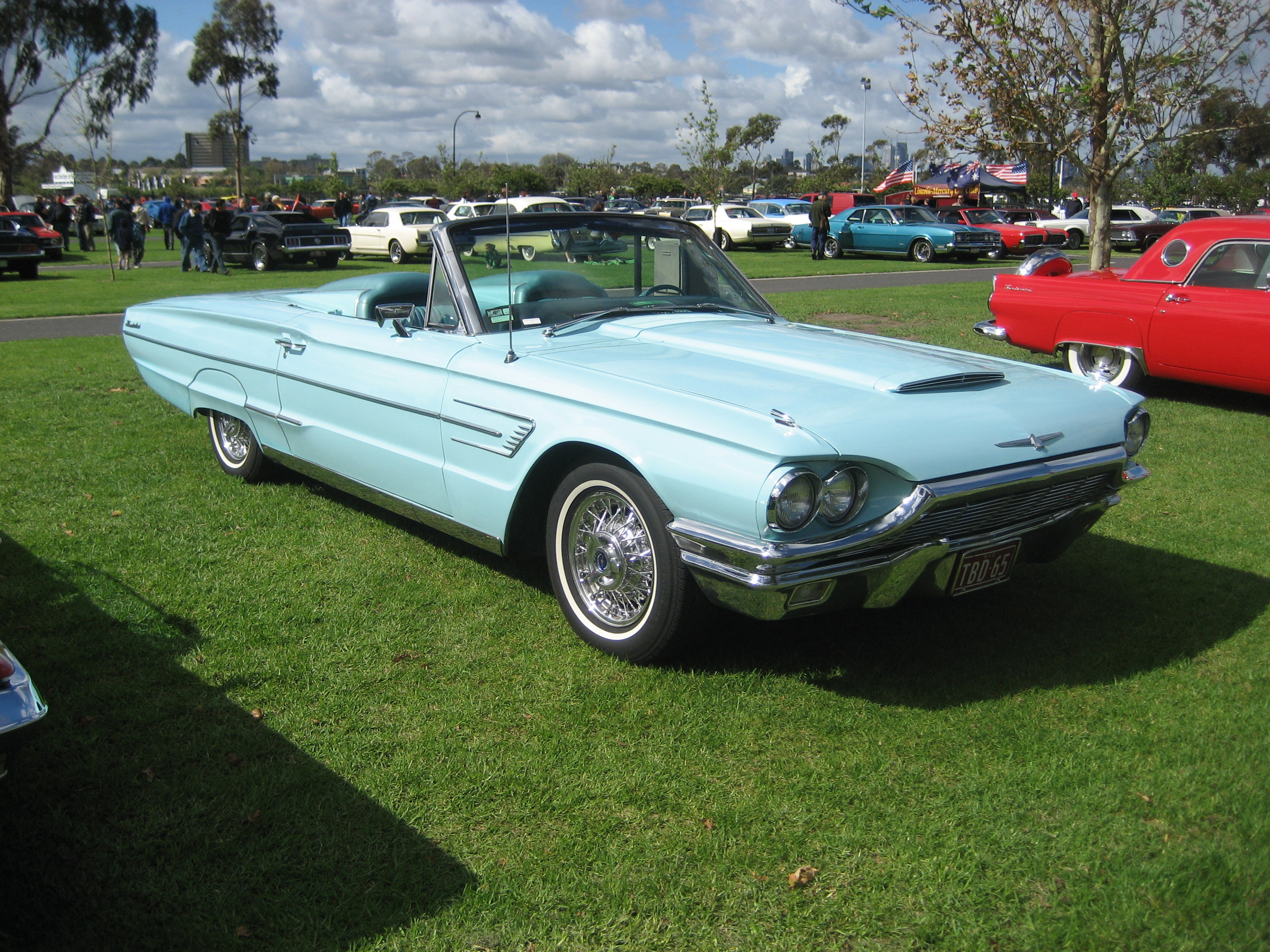 file 1965 ford thunderbird convertible 2 jpg wikimedia commons. Cars Review. Best American Auto & Cars Review