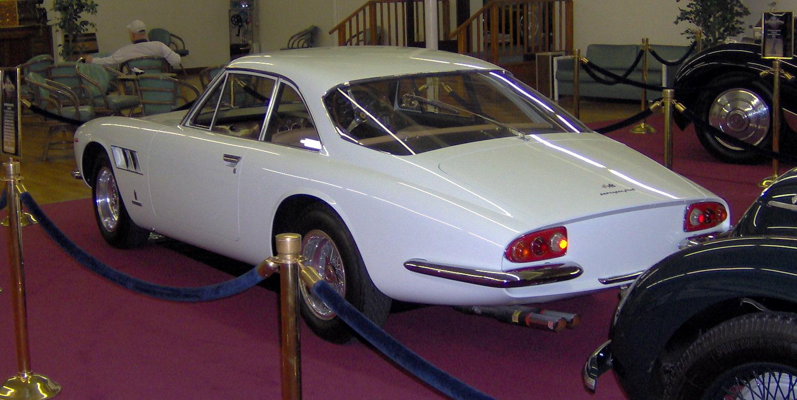 File 1966 Ferrari 500 Superfast Rear Jpg Wikimedia Commons