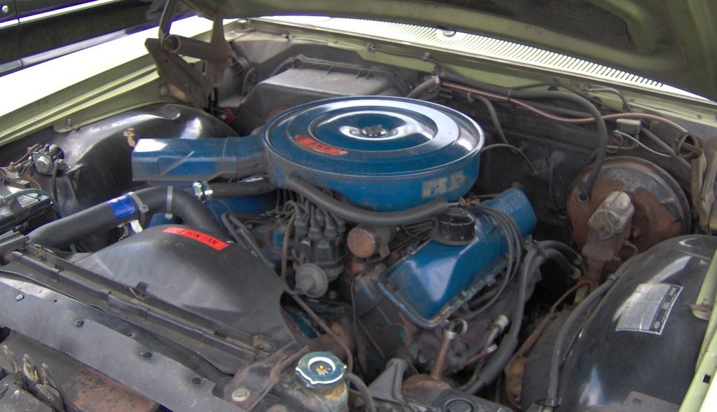 File 1970 Ford Ltd 390 Engine Jpg Wikimedia Commons