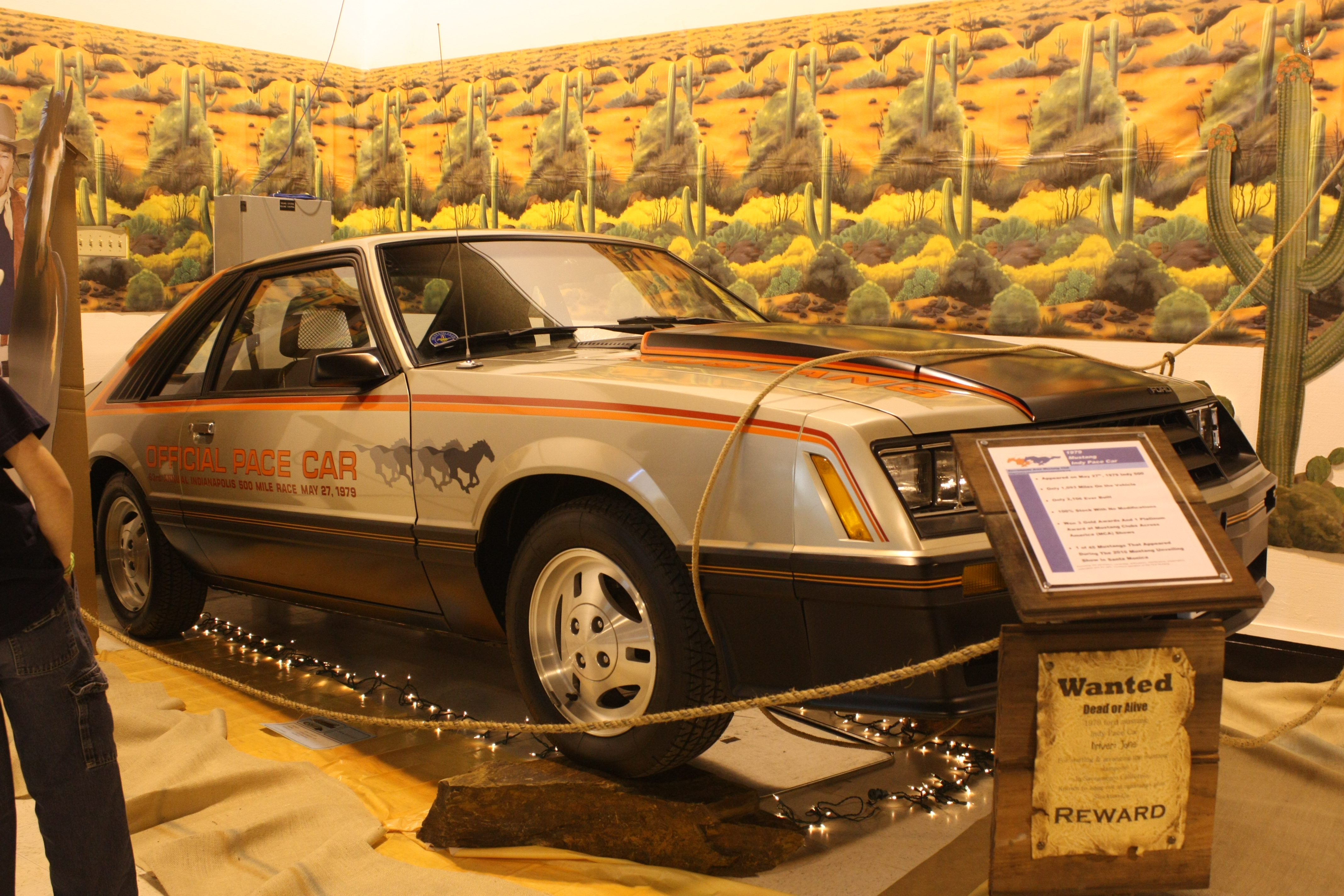 1979 ford mustang official pace car