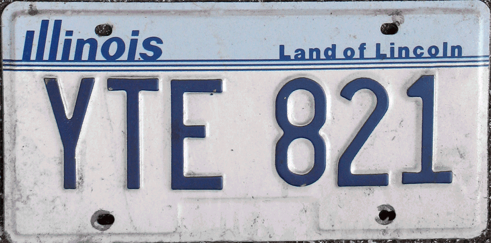 File:1987-Illinois-license-plate png - Wikimedia Commons