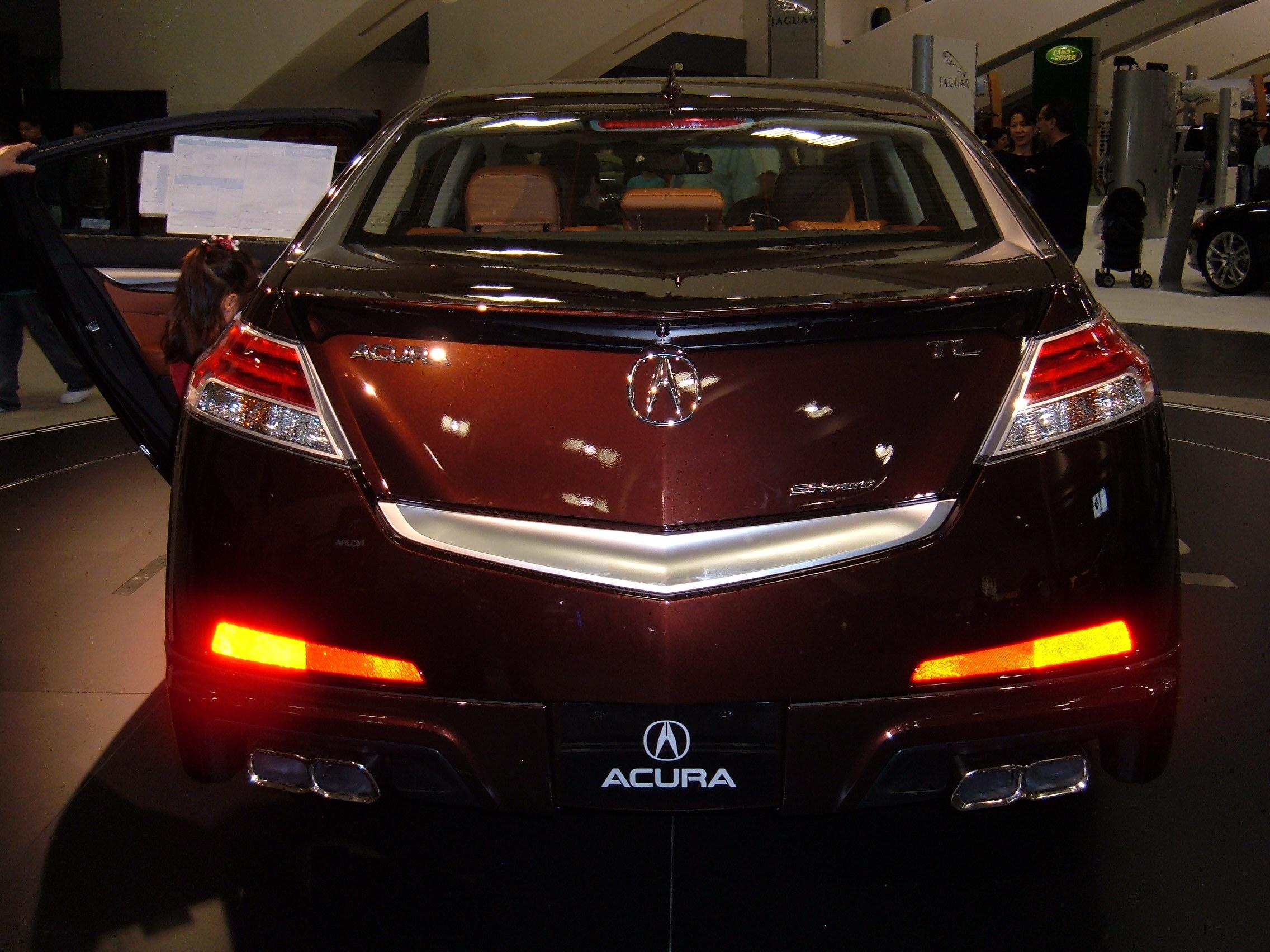 File:2009 maroon Acura TL SH-AWD Tech rear.JPG - Wikimedia Commons