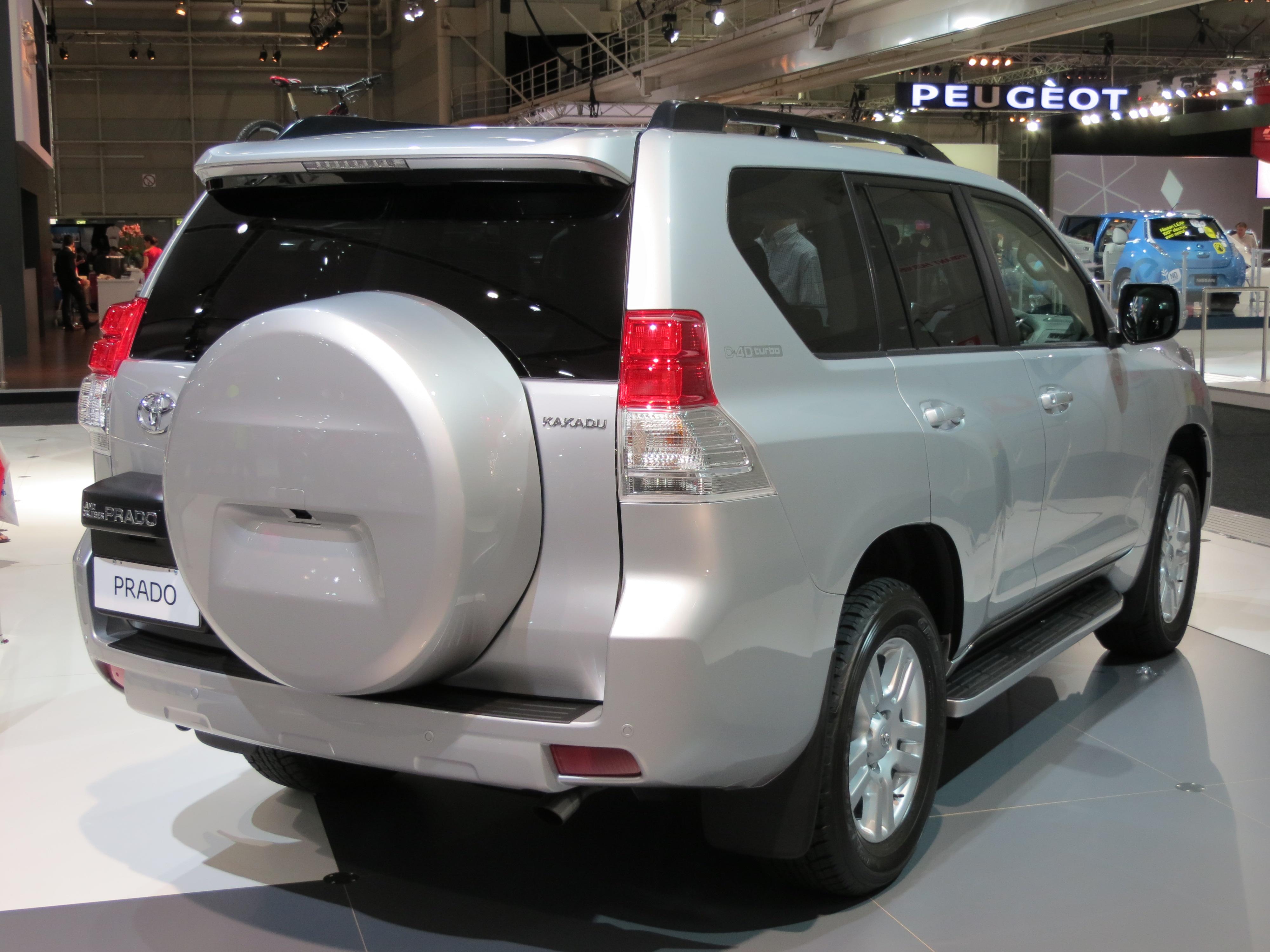 Toyota Land Cruiser Prado Wikipedia Colorado 3 5l Engine Parts Diagram Kakadu Kdj150r Pre Facelift Australia