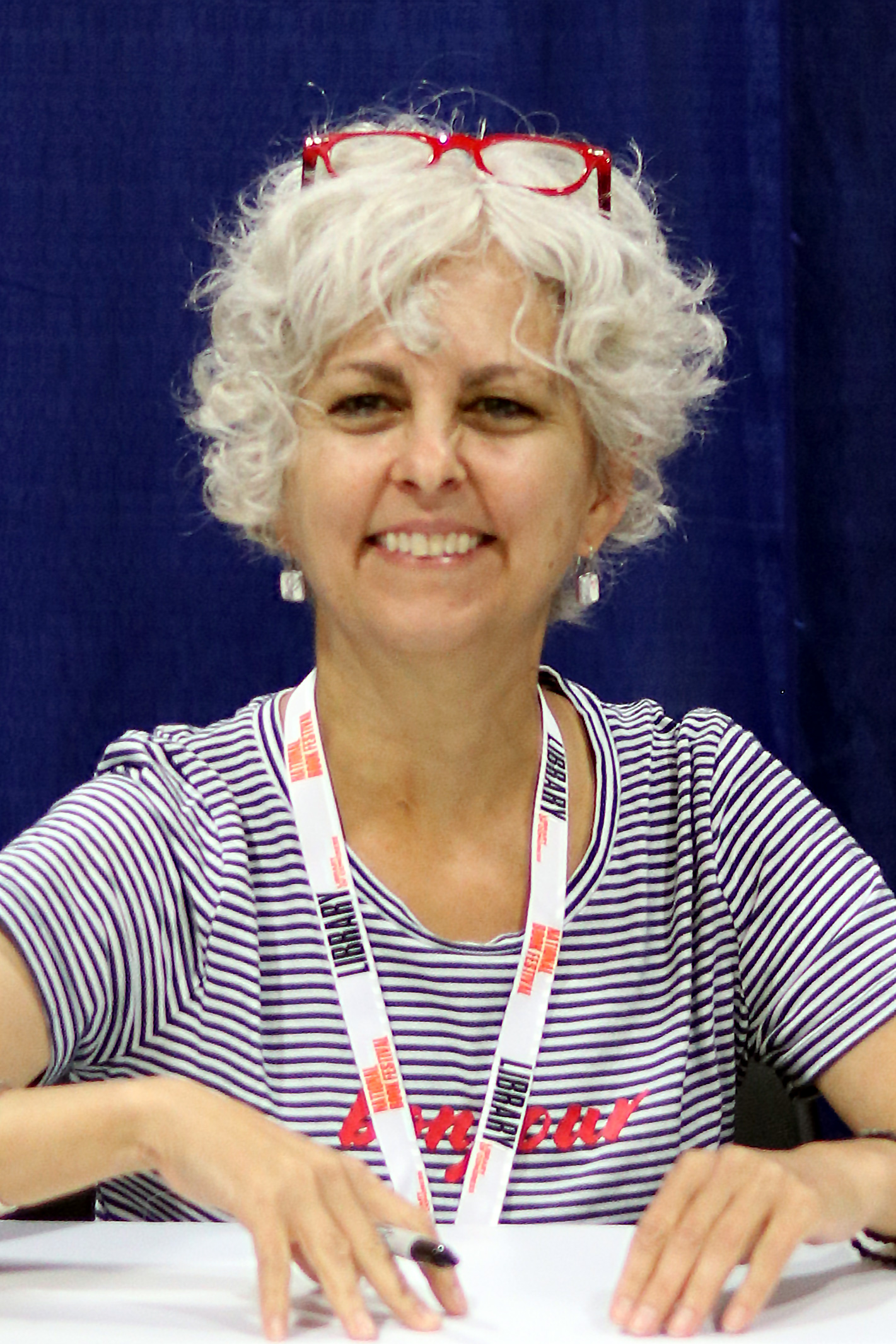 DiCamillo at the 2018 [[National Book Festival]]