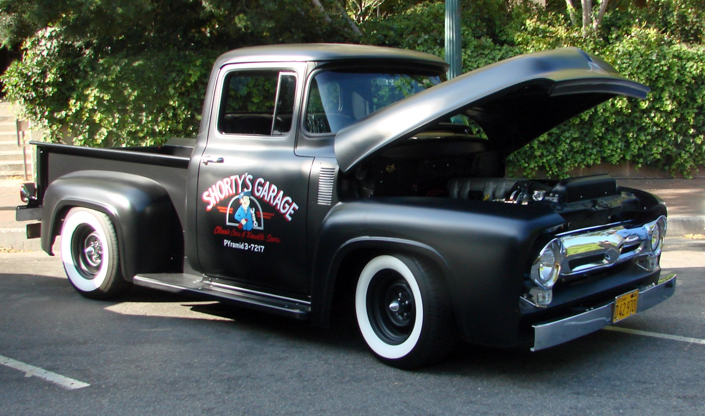 50s Ford Truck >> File 50s Ford Pickup 7434103426 Jpg Wikimedia Commons