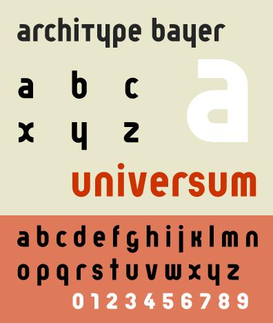 herbert bayer s 1925 experimental universal