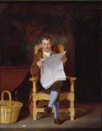 A Man Reading, 1827. A Man Reading by Thomas Sword Good.jpg