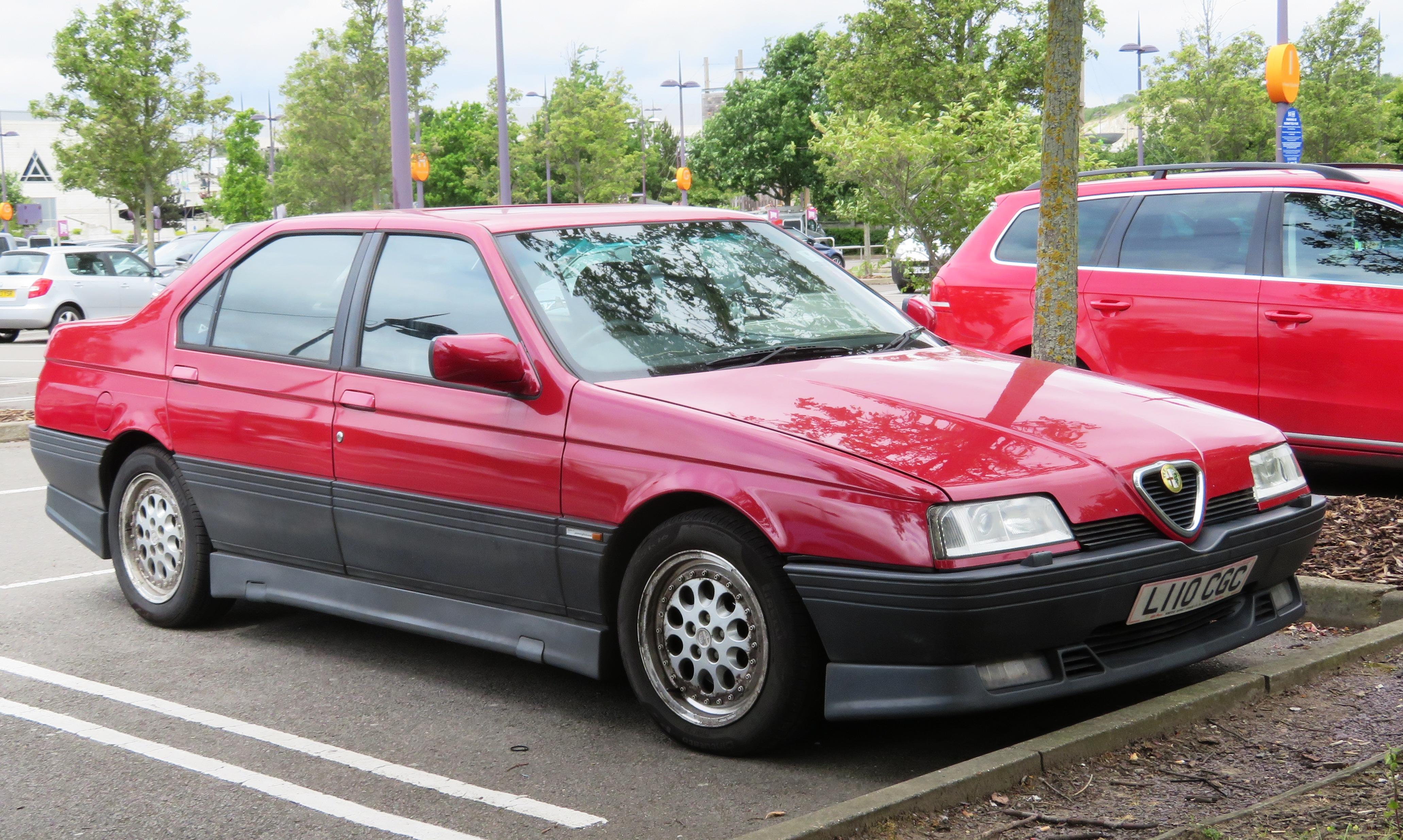 Alfa Romeo 164 >> File Alfa Romeo 164 Quadrifoglio Registered August 1993