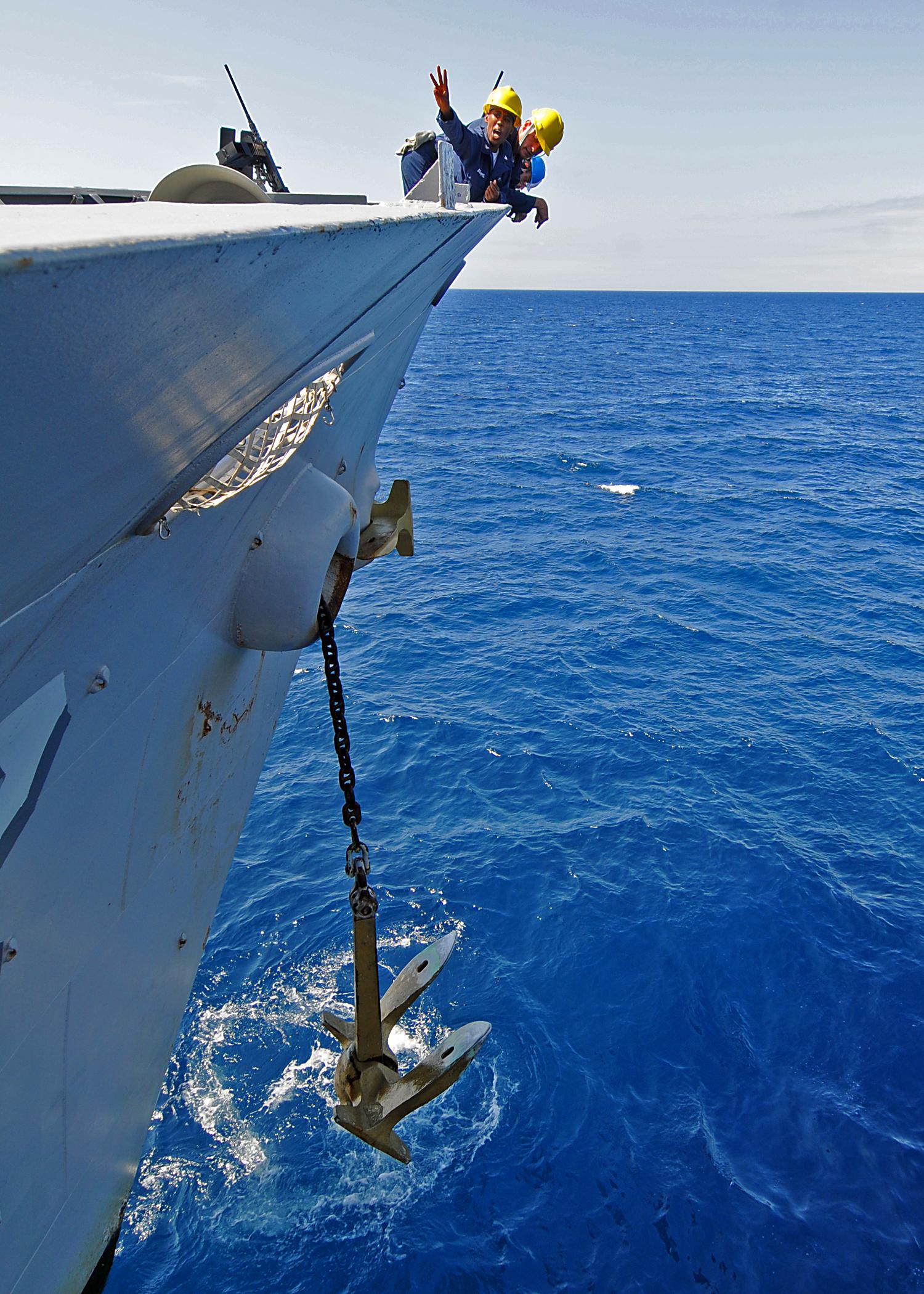 Anker (schip) - Wikiwand Raising Anchors