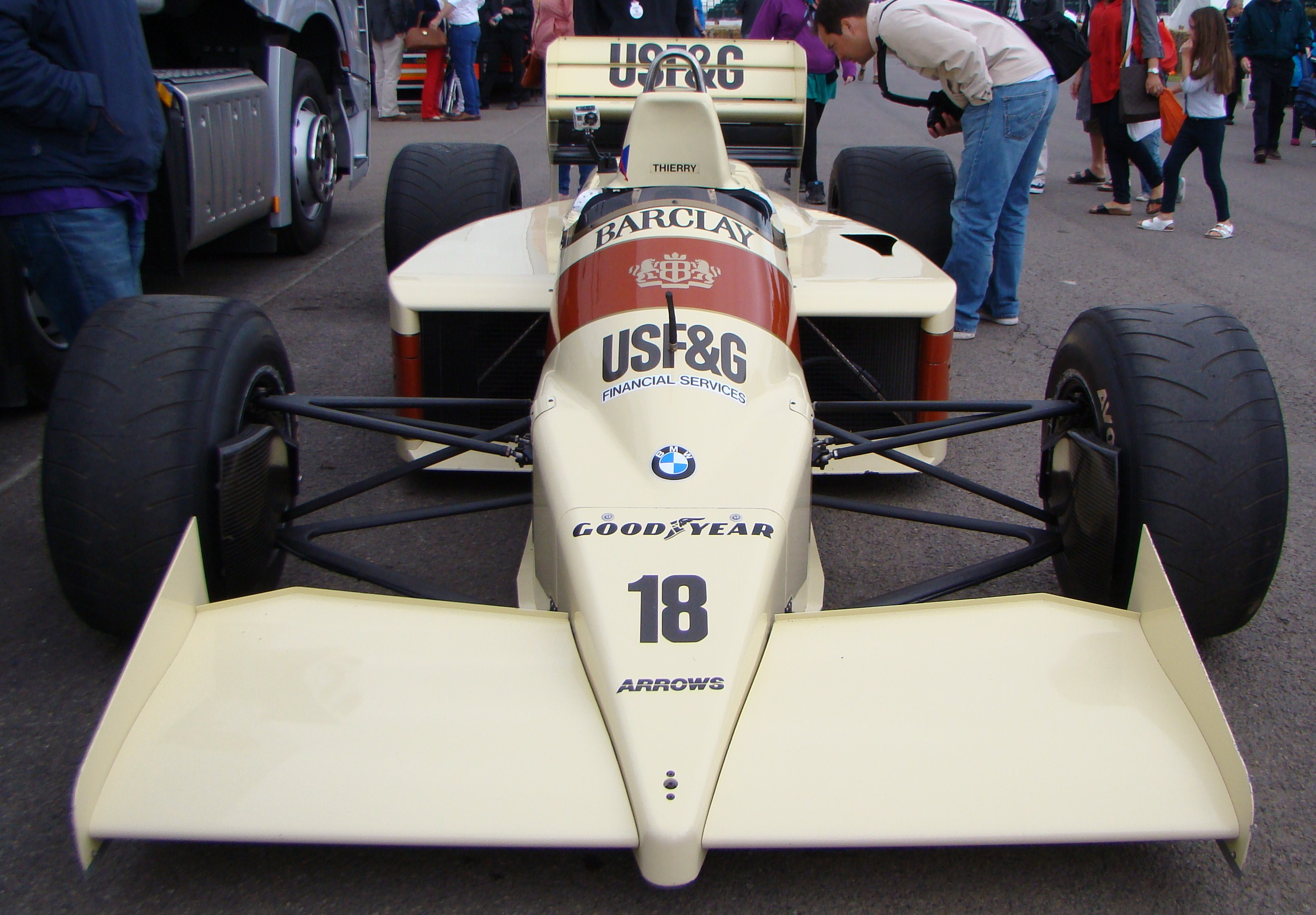 FileArrows A9 BMW F1 Car