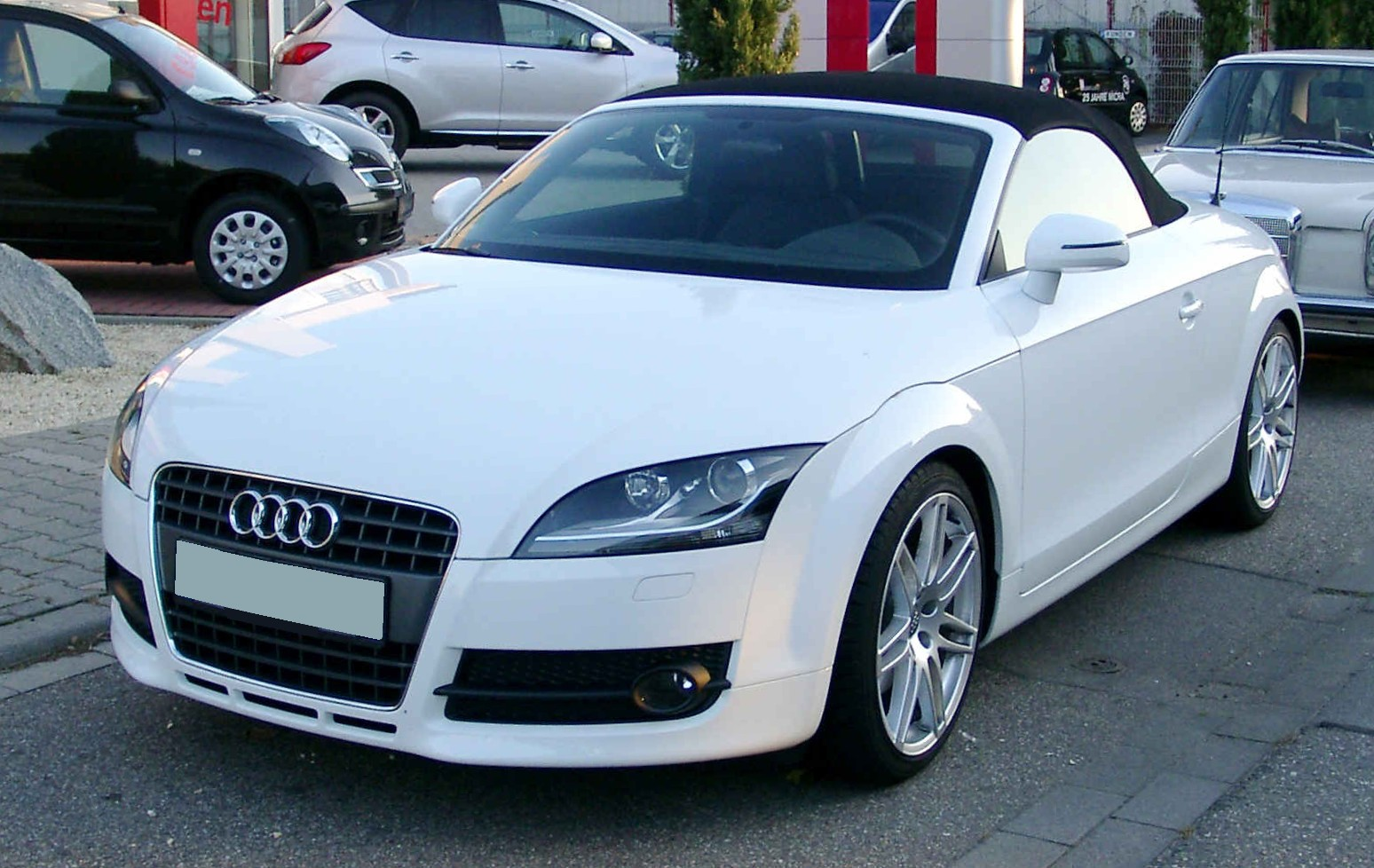 file audi tt roadster front wikimedia commons. Black Bedroom Furniture Sets. Home Design Ideas