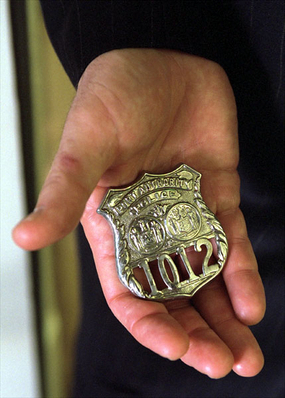 Port Authority of New York and New Jersey Police Department badge Badge 1012.jpg