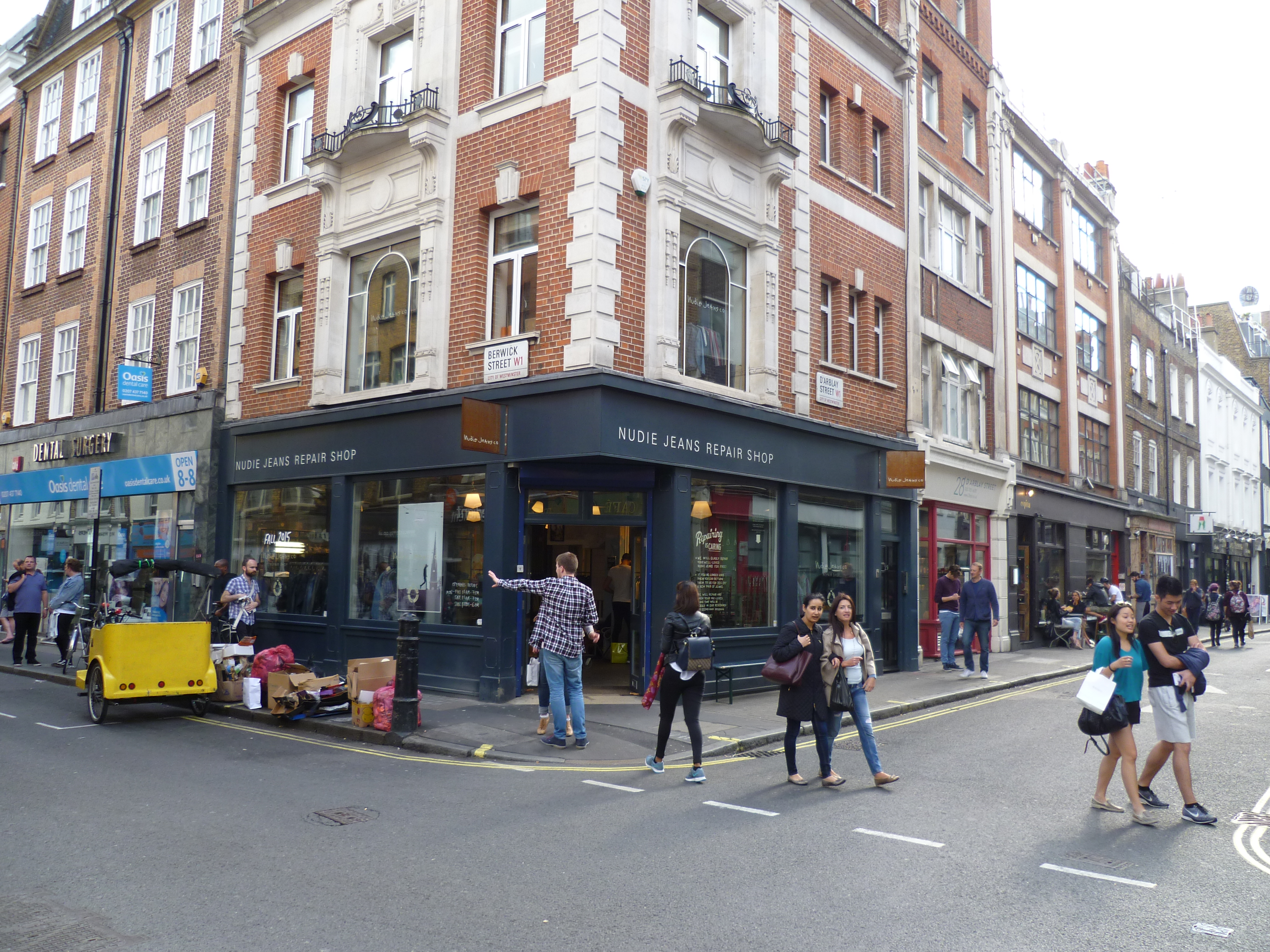 berwick dating One of london's oldest markets – dating back to 1778 – berwick street market is now a bustling foodie destination full of concept traders.