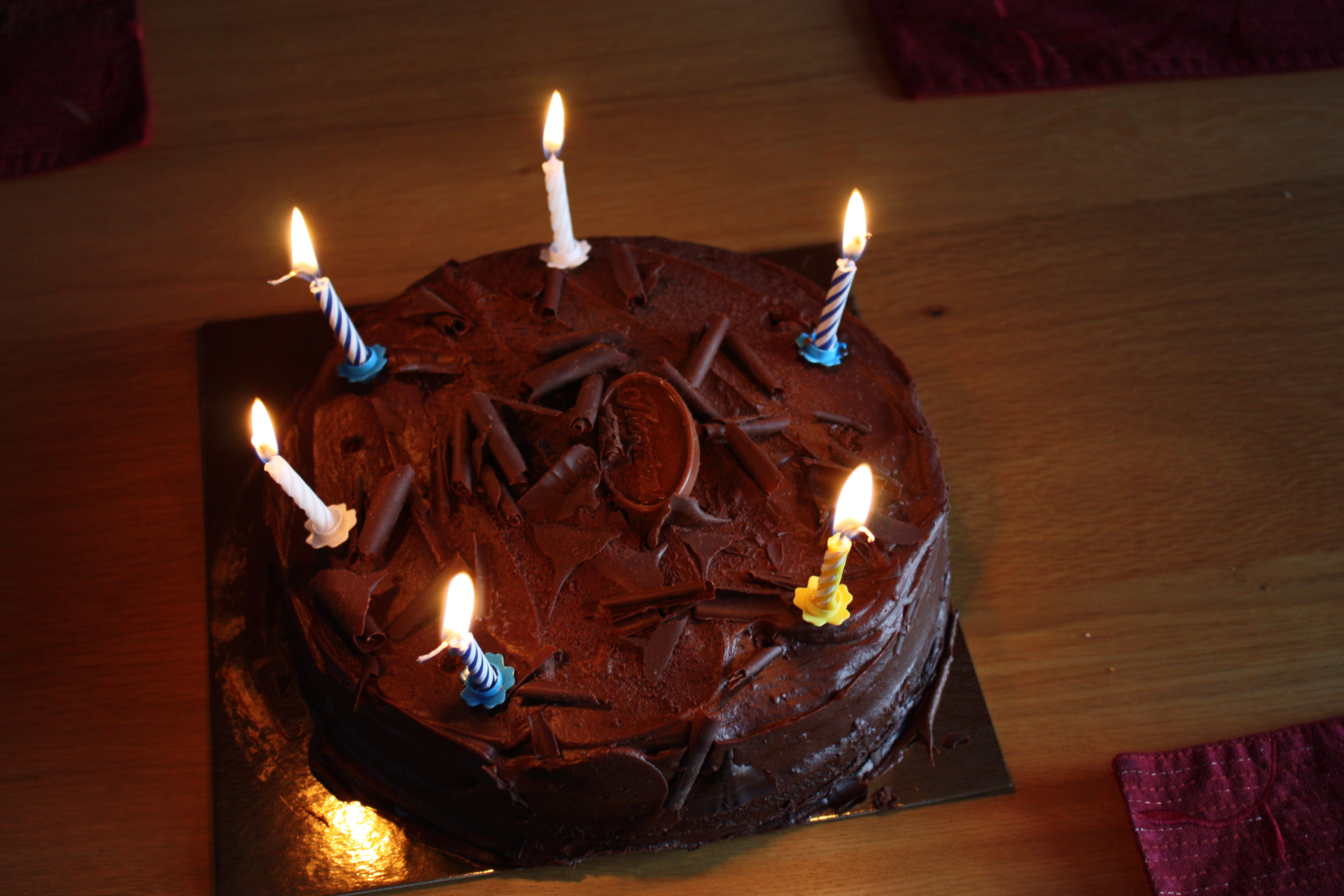 Birthday Cake Patrick