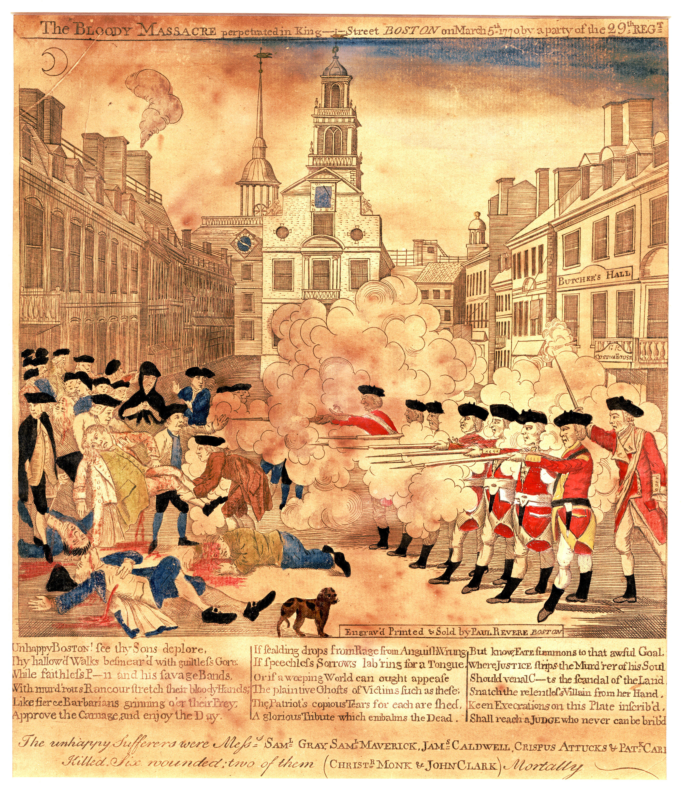 the british impact on the american revolution