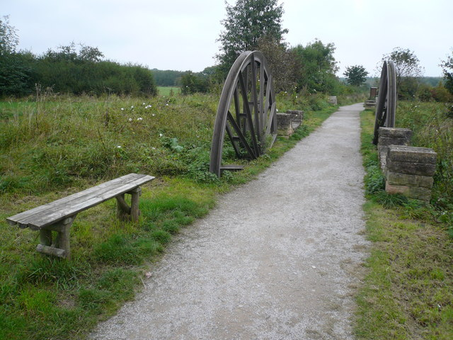 Brierley Forest Park - Footpath - geograph.org.uk - 573784