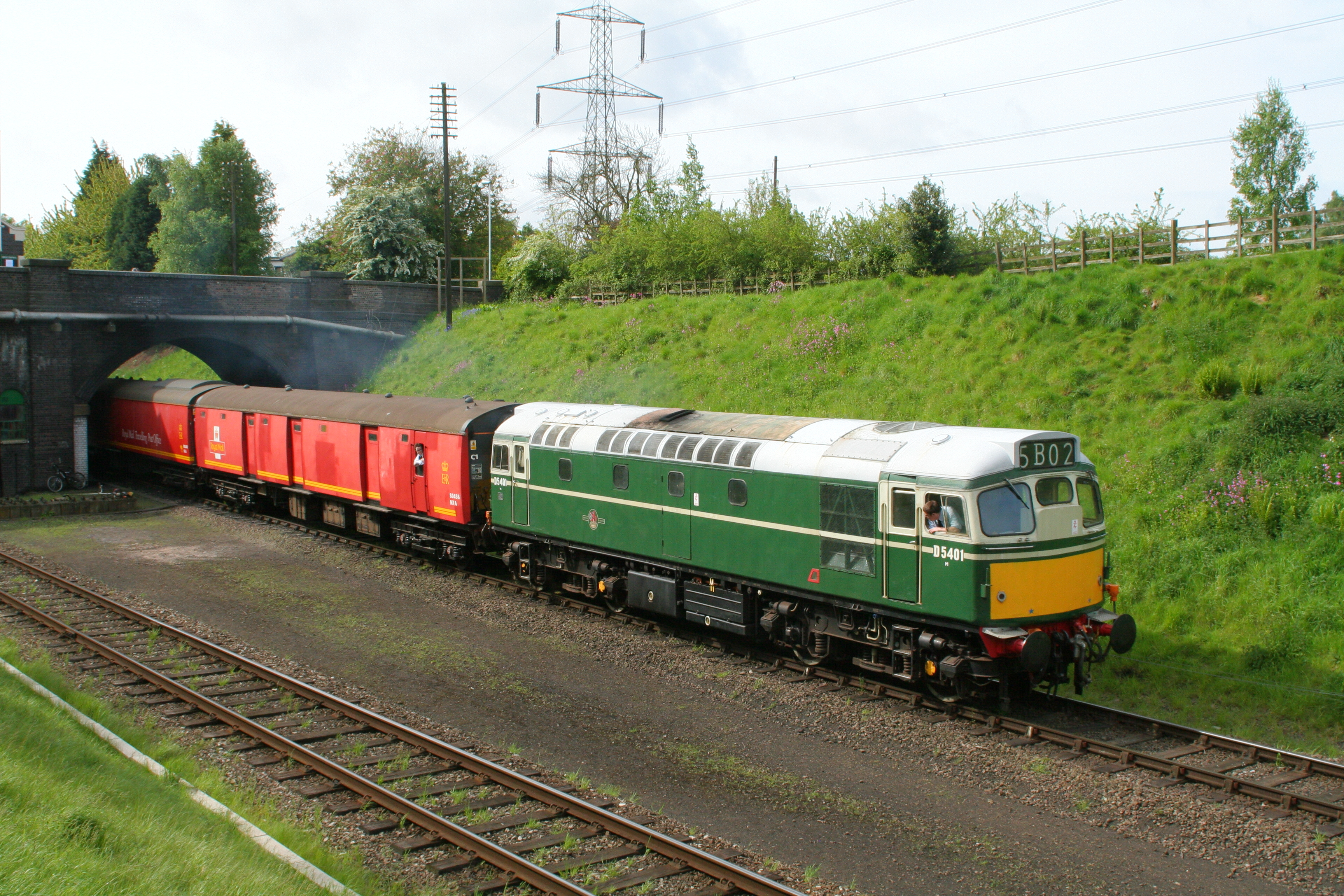 File:British Railways Class 27 D5401 at Great Central ... Railway