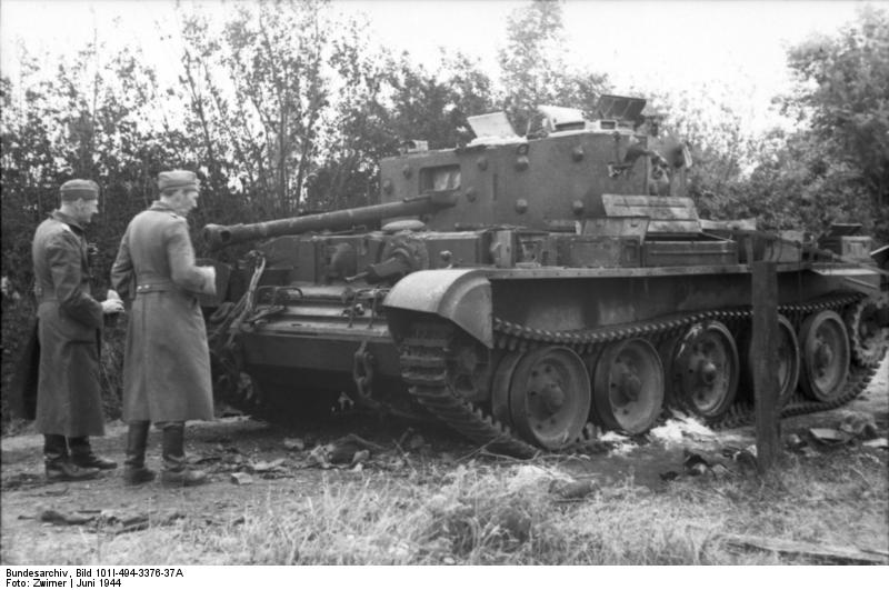 Another knocked-out Cromwell at Point 213