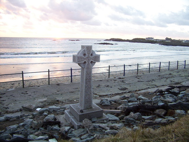Celtic cross by Trearddur Bay - geograph.org.uk - 313772