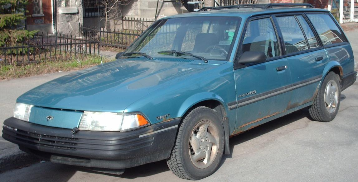 File:Chevrolet Cavalier Wagon.JPG - Wikimedia Commons