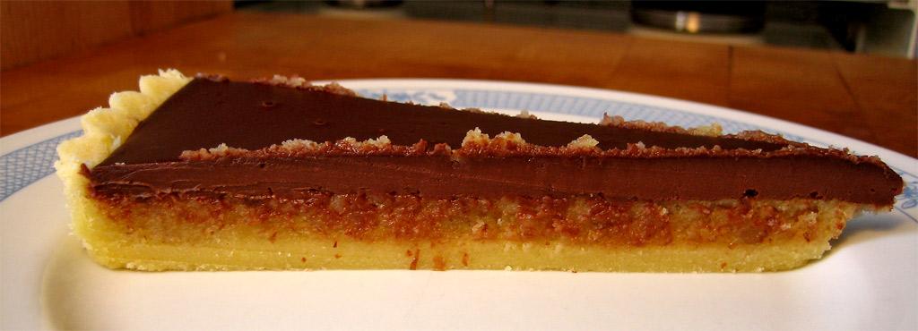 Chocolate Frangipane Cake