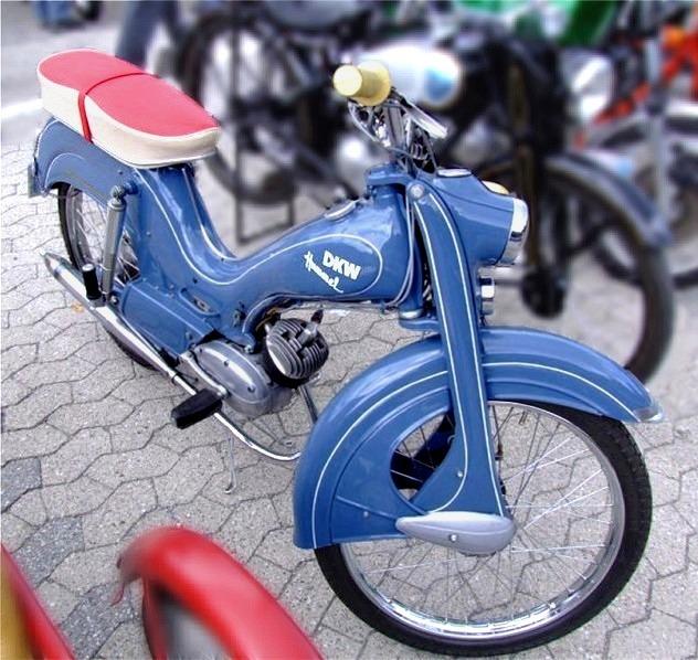Car Design News  Dkw Moped