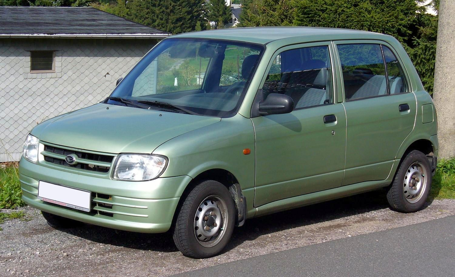 RANK DAIHATSU CAR PICTURES: Daihatsu Cuore Photo Gallery