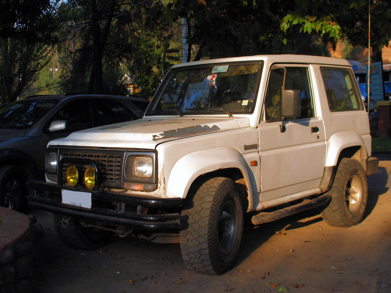 Daihatsu Rocky 1998 – Vehiculo