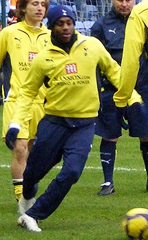 Danny Rose cropped Wigan Athletic v Tottenham Hotspur, 21st February 2010.jpg